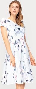 Sukienka Tomasz Sar mini z krótkim rękawem
