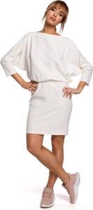 Sukienka MOE z bawełny mini