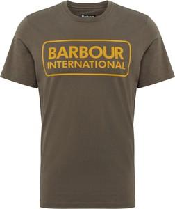 T-shirt Barbour z krótkim rękawem z bawełny