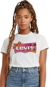 T-shirt Levis z okrągłym dekoltem w młodzieżowym stylu z krótkim rękawem
