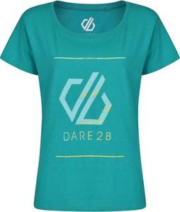 Bluzka Dare 2b z okrągłym dekoltem w młodzieżowym stylu z krótkim rękawem