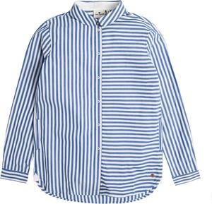 Niebieska koszula dziecięca Tom Tailor z bawełny