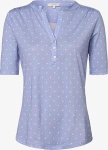 T-shirt Apriori z dekoltem w kształcie litery v z krótkim rękawem