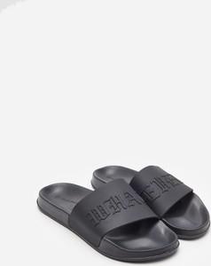 Czarne buty letnie męskie House