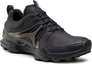 Czarne buty trekkingowe Ecco