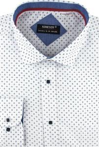 Koszula Koneser z tkaniny z długim rękawem