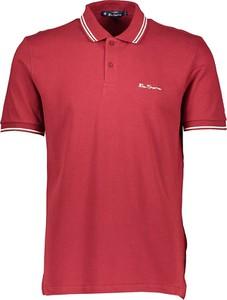 Koszulka polo Ben Sherman w stylu casual z bawełny
