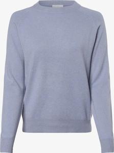 Niebieski sweter Marie Lund z kaszmiru w stylu casual