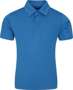 Niebieska koszulka dziecięca Mountain Warehouse z tkaniny dla chłopców