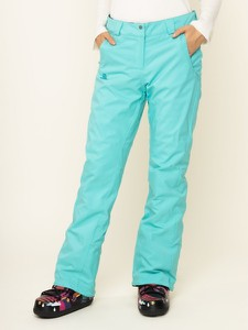 Zielone spodnie sportowe Salomon