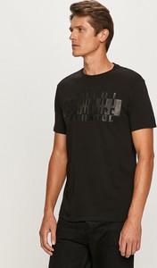 T-shirt Armani Exchange w stylu casual z dzianiny z krótkim rękawem