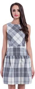 Sukienka Manifiq&Co. mini z tkaniny bez rękawów