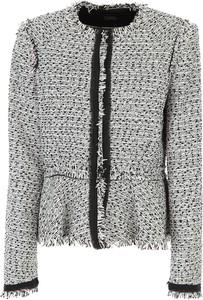 Kurtka Karl Lagerfeld krótka w stylu boho
