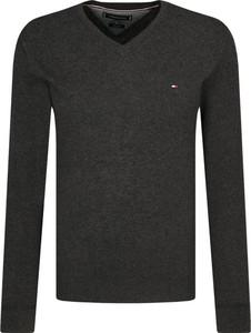 Sweter Tommy Hilfiger z kaszmiru w stylu casual