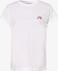 T-shirt Marie Lund z dżerseju z krótkim rękawem z okrągłym dekoltem