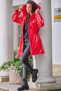 Czerwona kurtka Awama w stylu casual