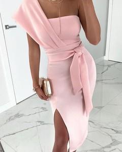 Sukienka Kendallme asymetryczna midi