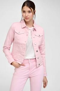 Różowa kurtka ORSAY w stylu casual