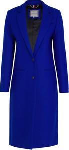 Niebieski płaszcz Tommy Hilfiger w stylu casual