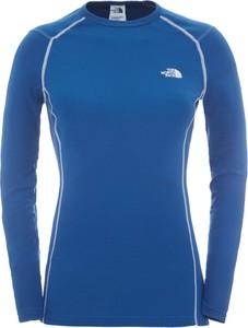 Niebieska bluzka The North Face z tkaniny
