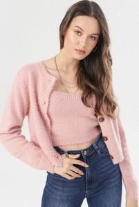 Różowy born2be w stylu casual