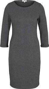 Sukienka Tom Tailor z długim rękawem w stylu casual mini