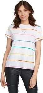 T-shirt Wrangler z okrągłym dekoltem z krótkim rękawem