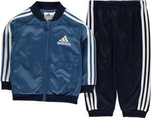 Niebieskie body niemowlęce Adidas