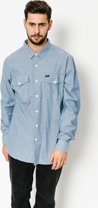 Niebieska koszula Brixton z bawełny