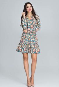 Sukienka Figl mini z długim rękawem z dekoltem w kształcie litery v