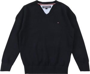 Sweter Tommy Hilfiger z tkaniny
