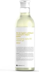 Botanicapharma, Oatmeal & Jajoba Oil Shower Gel, żel do kąpieli z płatkami owsianymi i olejem jojoba, 500 ml