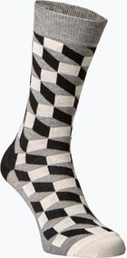 Szare skarpety happy socks