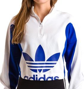 Bluza Adidas z nadrukiem z bawełny