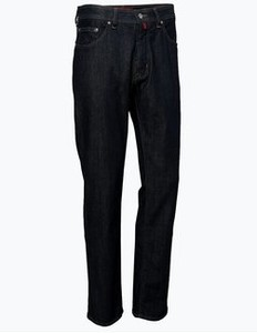 Czarne jeansy pierre cardin