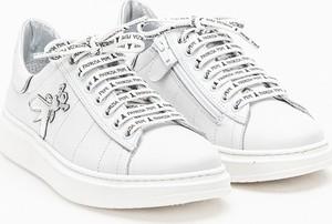 Buty sportowe Patrizia Pepe z płaską podeszwą
