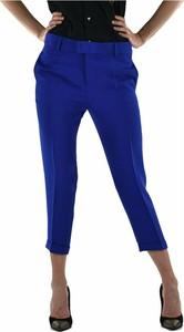 Niebieskie spodnie Dsquared2 z jedwabiu w stylu casual
