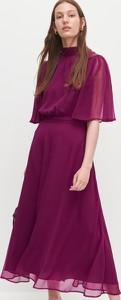 Różowa sukienka Reserved maxi
