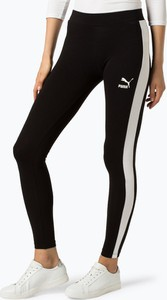 Czarne legginsy Puma z dżerseju