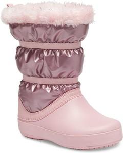Buty dziecięce zimowe Crocs dla dziewczynek