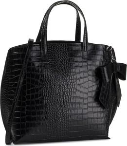 Czarna torebka Creole matowa na ramię