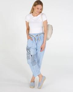 Niebieskie spodnie Unisono