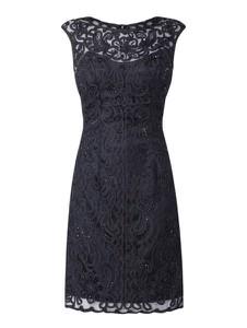 Sukienka Luxuar z okrągłym dekoltem