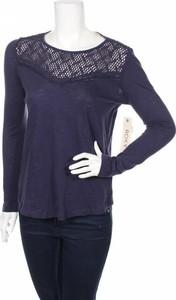 Bluzka Roxy z okrągłym dekoltem z długim rękawem
