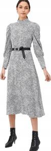 Sukienka V by Very prosta z długim rękawem