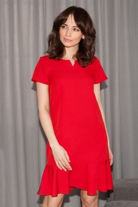 Sukienka butik-choice.pl z krótkim rękawem