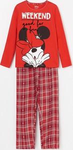 Czerwona piżama Reserved dla dziewczynek