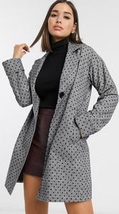 Czarny płaszcz Helene Berman