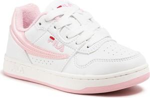 Buty sportowe dziecięce Fila dla dziewczynek sznurowane
