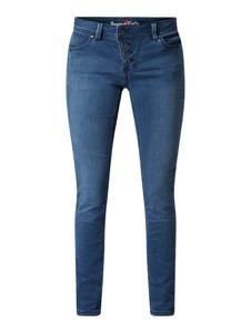 Granatowe jeansy Buena Vista w stylu casual z dzianiny